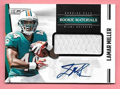 2012 Panini Rookies Stars #237 Lamar Ranking TOP15 Recommendation Miller Autograph Jersey R