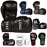 Athllete Training Boxing Gloves Customizable (Personalized Print, 12 oz). Design Your own Boxing Gloves with Custom Printing.