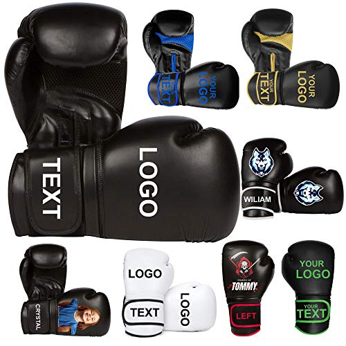 Design Your own Boxing Gloves with Custom Printing. Athllete Training Boxing Gloves Customizable...