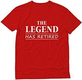 Tstars - The Legend Has Retired - Best Retirement Gift Idea T-Shirt