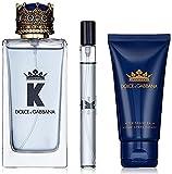 Dolce & Gabbana K Eau Toilette 100 Ml + Balsamo Afeitado 75 Ml + Eau Toliette 10 Ml, One size, 185 ml