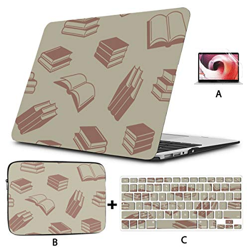 11 Macbook Air Case Colorful Art Modern Fashion Book Case Macbook Pro Hard Shell Mac Air 11'/13' Pro 13'/15'/16' With Notebook Sleeve Bag For Macbook 2008-2020 Version