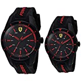 SF Set Red Rev Blk Dial Blk Silic Strap