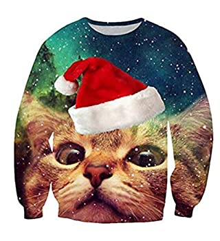 Best cat print sweaters Reviews