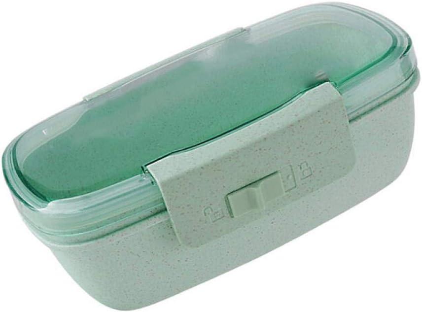 TYUXINSD Vajilla Lunchbox para niñas  Mini Cajas de contenedores de Almuerzo para niños en Edad Preescolar  El Mejor contenedor de Fuga ecofriendly