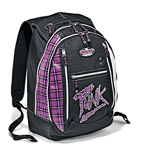 Zaino round scuola SEVEN - PUNK - viola nero medie superiori 24 LT