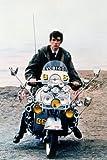 Quadrophenia Phil Daniels Poster Vespa Scooter Classic Pose