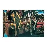 Pintura al óleo SalvadorDalí Metamorfosis de Narciso Lienzo Cartel Dormitorio Decoración Deportes Paisaje Oficina Decoración Regalo 16×24 pulgadas (40×60cm) Unframe:1