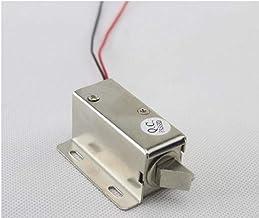 GangKun Elektromagnetisch slot, klein elektrisch slot, 12 V schuin tong, magnetisch ventielslot, ladeslot, express-kastslo...