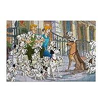 Qori 101匹わんちゃん ジグソーパズル 98ピース Mini ミニ グッズ 木製 子供 大人 初心者向け 飾り プレゼント パズル