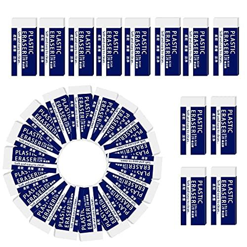 Radiergummi, Radierer, 30 Stücke Plastic Würfel Radiergummis text Radiergummi 2B-Radierer 2B Radiergummi für den universellen Einsatz in Schulen, Skizzen, Gemälden, bildenden Künsten, Büros