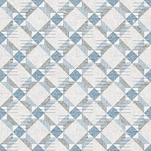 Nais - Baldosas cerámicas para suelos - Colección Area15 - Color Lattice Blue (15x15 cm) - Caja de 1 m2 (44 piezas)