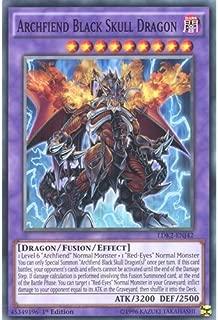 Deckboosters YuGiOh : LDK2-ENJ42 Limited Ed Archfiend Black Skull Dragon Common Card - ( Yu-Gi-Oh! Single Card)