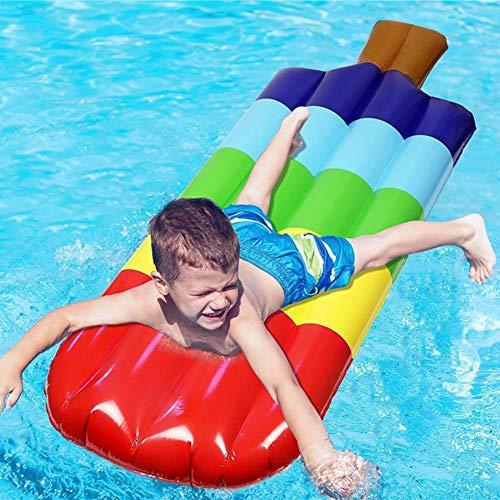 Allowevt Kinder aufblasbare schwimmende Reihe Spielzeug 145cm EIS schwimmende Floß schwimmende EIS am Stiel Drifting Couch Schwimmen Party Spielzeug