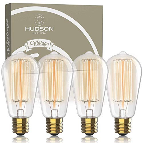 10 x 60 W Edison Screw E27 Pearl Bulbes Rough Service Lights Cla Energy