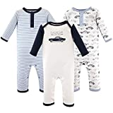 Hudson Baby Unisex Baby Cotton Coveralls,...