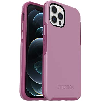 OtterBox Symmetry Series Case for iPhone 12 & iPhone 12 Pro - Cake POP (Orchid/Rosebud), Pink (77-65915)