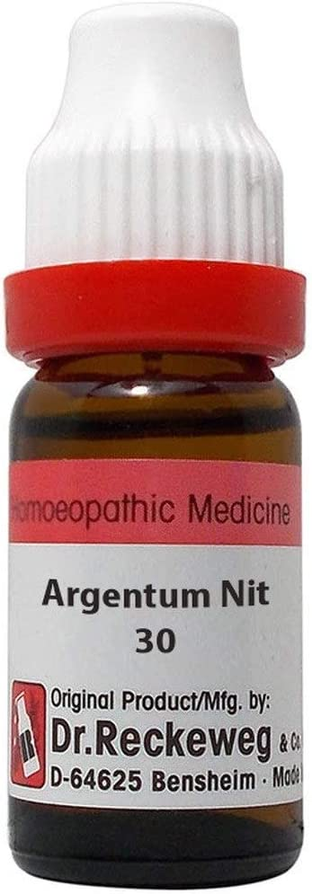 Dr. Reckeweg Germany Opening large release sale Homeopathic Argentum M Fashion 11 Nitricum CH 30