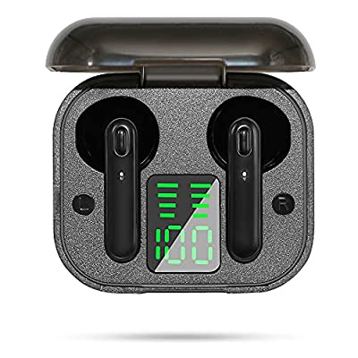 Amazon - Save 75%: SAMMIX Wireless Earbuds Bluetooth 5.0 Headphones Immersive Stereo Sound i…