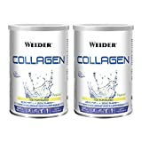 Weider Duo Pack Collagen, Weider Collagen. with Hyaluronic Acid, Magnesium and Vitamin C. 100% Peptan. Zero Fat. Sugar Zero. Keto. 600g