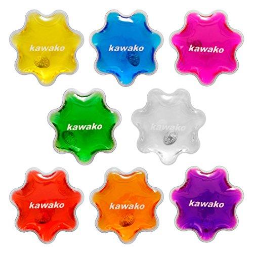 Taschenwärmer 8er Set Multicolor - Flowers/Blumen - Handwärmer Heizpad Wärmepad Firebag