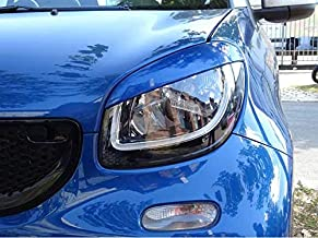Headlight Covers Evil Eye Orange Smart ABE