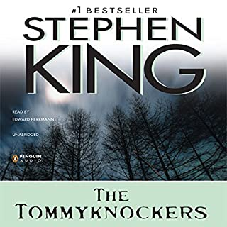 The Tommyknockers audiobook cover art