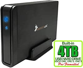 HornetTek Viper 4TB (4000GB) 7200RPM 64MB Cache USB 3.0 External Hard Drive for Xbox