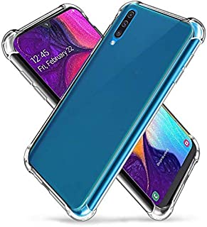 For Samsung Galaxy A30S King Kong Cover Anti-Burst Super 4 corners Protection -Transparent