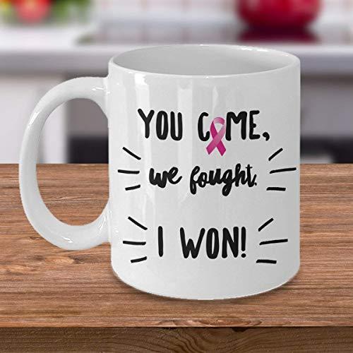 Consiga los regalos bien del cáncer de pecho taza de <br> Primavera! Regalos para sobrevivientes de cáncer de mama | Regalos para mujeres con cáncer | Regalos posteriores a la cirugía de cáncer de mam