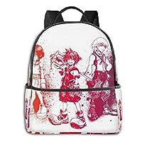 メンズ レディース 大容量 Kingdom Heartsキングダム ハーツ2 双肩バッグ 青少年 中学生 ファッション リュックサック 登山 出張 旅行 多機能 防水リュックサック