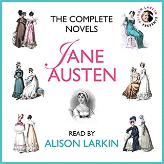 The Complete Novels : Sense and Sensibility, Pride and Prejudice, Mansfield Park, Emma, Northanger Abbey and Persuasion                   Autor:                                                                                                                                 Jane Austen                               Sprecher:                                                                                                                                 Alison Larkin                      Spieldauer: 81 Std. und 2 Min.     19 Bewertungen     Gesamt 4,3