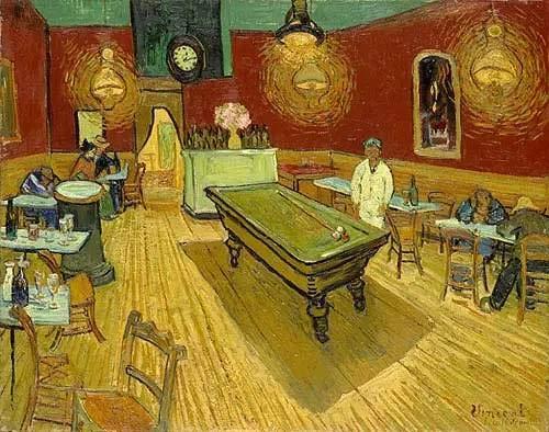 Malen nach Zahlen für Erwachsene von Banlana, Malen nach Zahlen Kits für Anfänger auf Leinwand, gerollt, 40,6 x 50,8 cm (Van Gogh The Night Cafe in The Place Lamartine in Arles)