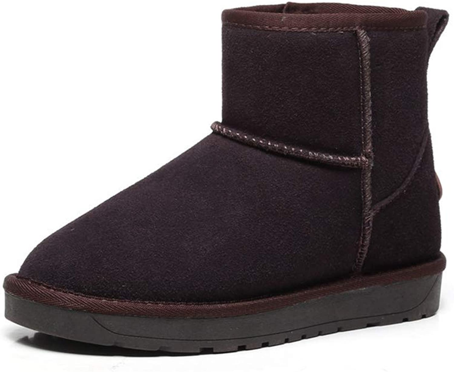 Kyle Walsh Pa Women Classic Snow Boots Hidden Wedge Warm Fur Female Winter Non-Slip Ankle Booties