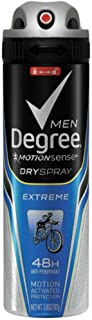 Degree Deodorant 3.8 Ounce Mens Dry Spray Extreme (113ml) (2 Pack)