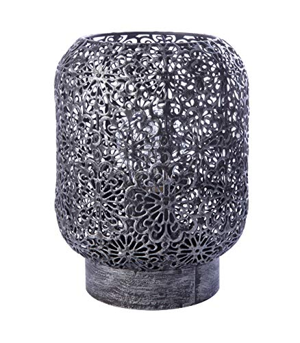 Lussiol 233817 - Lámpara decorativa (metal, 15 x 20...