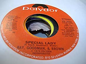RAY, GOODMAN, & BROWN 45 RPM Special Lady / d�j� vu