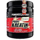 Kreatin Monohydrat hochdosiert - 500 Kapseln - 100% reinstes CREAPURE plus D-Ribose, eine von Sportlern favorisierte Kombination