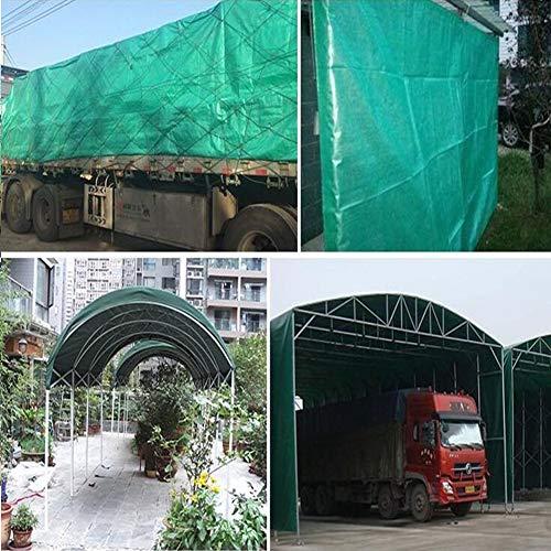 Vele parasole CJC Telone Multiuso Impermeabile Copertura del Telo per Tende E Protezione dalle Intemperie, Tendalino Protezione Solare (Color : Green,