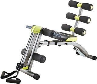 Wonder Core II: Equipo de fitness multifuncional 12 en 1   Ejercitador de sentadillas – Diseño ergonómico – Estiramiento más allá de 180° y 360° en torsión