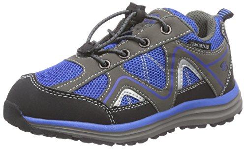 Brütting Minnesota, Chaussures de randonnée Garçon Fille, Bleu, Bleu Roi, Gris, 30 EU