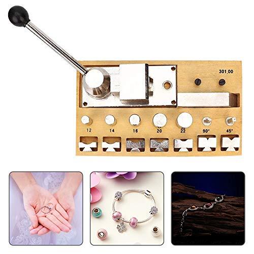 S SMAUTOP Ring Buigen Tool Set Metaal Draagbare Multifunctionele Ring Bender Maker Professionele Handmatige Sieraden Ring Oorbel maken Ronde Gereedschap voor Goud Zilveren Sieraden Ring Reparatie