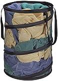 Mesh Popup Laundry Hamper - Portable Durable Large Storage Laundry Hamper,Household Essentials Pop-Up Collapsible Mesh Laundry Hamper