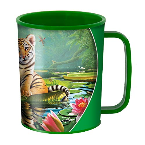 3D LiveLife Tiger Lily Cup Cup From Deluxebase. Aturdir diseño de la...