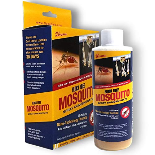 Flock Free Mosquito Control Concentrate   Colloidal Pest Control Concentrate