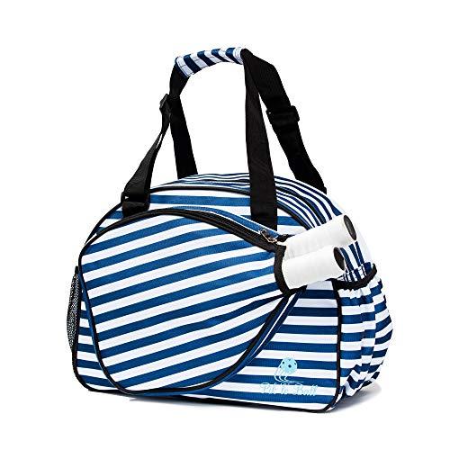 Pik'le'Ball Women's Premium Pickleball Bag. (Blue/White)