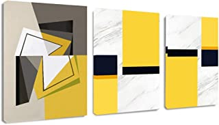 Canvas Wall Art Geometric Abstract Artwork - 12