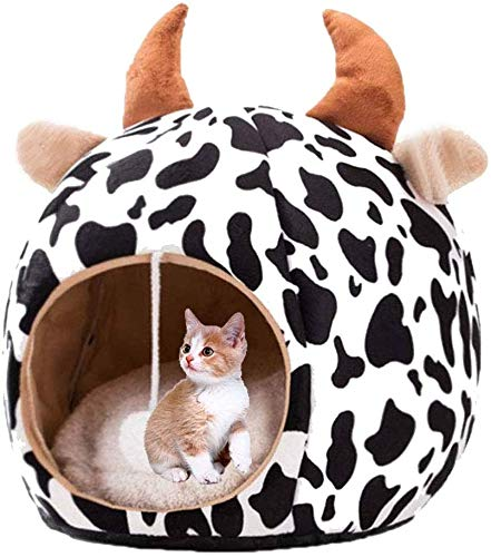 GUIYTQ5R Dog bed Cat bed Pet bed Cat Small Dog Cosy Bed, Pet Warm House, Cat Bed Cave Sleeping Bag, Cushion Detachable Washable Indoor Nest Bed for Cat Puppy