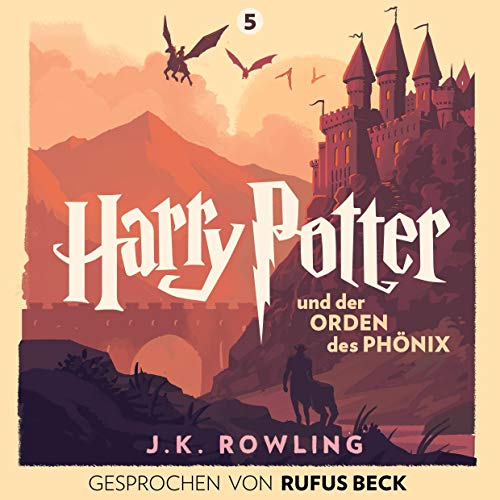 Harry Potter und der Orden des Phönix - Gesprochen von Rufus Beck     Harry Potter 5              By:                                                                                                                                 J.K. Rowling                               Narrated by:                                                                                                                                 Rufus Beck                      Length: 33 hrs and 3 mins     7 ratings     Overall 4.9