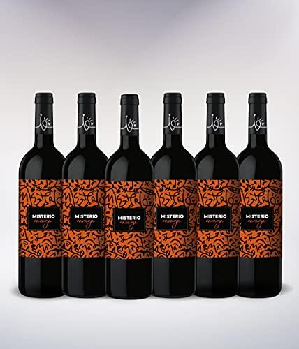 Misterio Orange Vino de Naranja D.O. Condado de Huelva Variedad Moscatel - 6 botellas de 0,75L